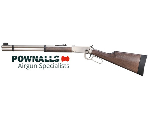 Walther Steel Finish CO2 Lever Action Rifle .177