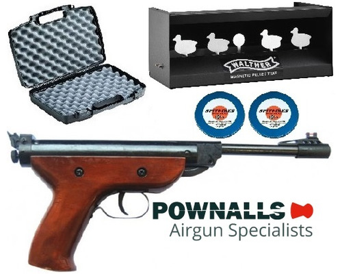 SMK S2 Air Pistol Kit .177 .22