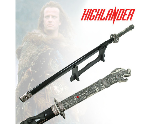 Highlander 1st Generation Sword With Stand Single Straight