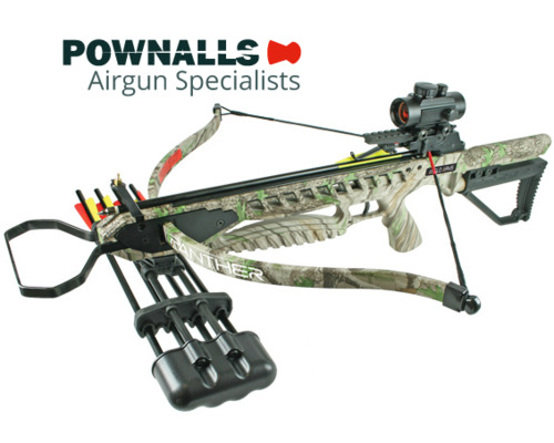PANTHER 175lb Camo Crossbow Kit with Accessories