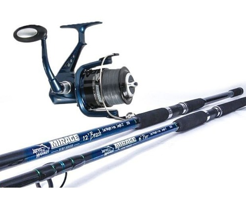 Pownalls jarvis walker mirage surf combo deals for Surf fishing rods and reel combos